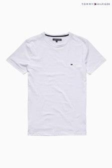 Tommy Hilfiger White New Stretch T-Shirt
