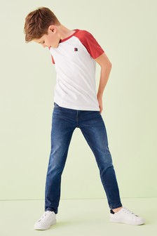 Skinny Jeans With Keyring (3-16yrs)