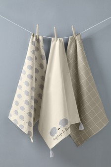 Set of 3 Tea Towels