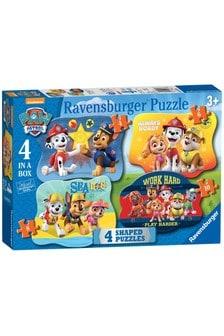 Ravensburger PAW Patrol Four Shaped Jigsaw Puzzles