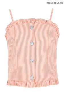 River Island Red Stripe Tia Cami Top