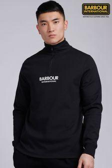 Barbour® International Transmission Half Zip Sweat