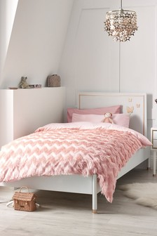 Gracie Butterfly White Bed