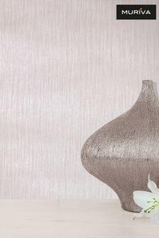Muriva Pink Texture Lustre Wallpaper