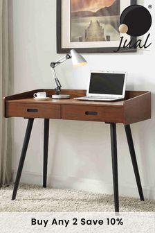 Vienna 2 Drawer Desk by Jual