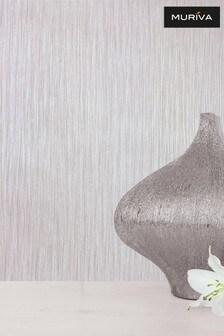 Muriva Natural Texture Lustre Wallpaper