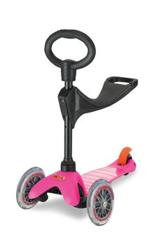 Micro Scooter Mini Micro 3-In-1 Pink Scooter 1-5 Years