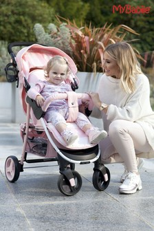 Billie Faiers Pink Stripes Pushchair by My Babiie