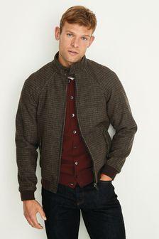 Puppytooth Harrington Jacket