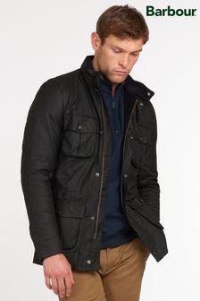Barbour® Black Corbridge Wax Jacket