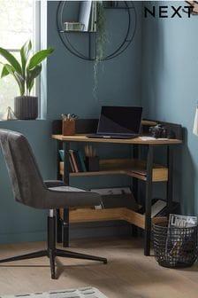 Bronx Compact Corner Desk / Console
