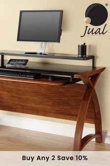Helsinki 1300 Walnut Desk by Jual