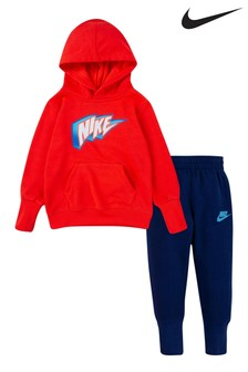 Nike Red Little Kids Lightening Tracksuit
