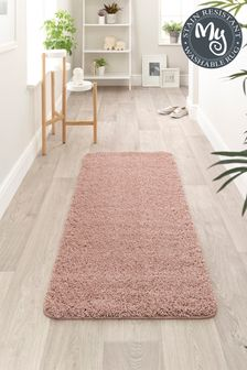 My Rug Pink Washable And Stain Resistant And So Soft Textured Rug
