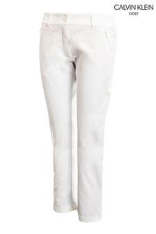 Calvin Klein Golf White Arkose Trousers