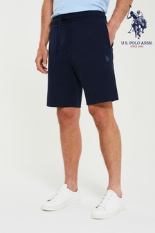 U.S. Polo Assn. 3CM DHM LB Sweat Shorts