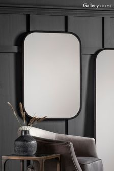 Gallery Direct Bedford Rectangle Black Mirror