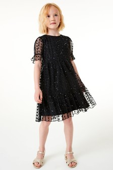 Tiered Tulle Dress (3-16yrs)