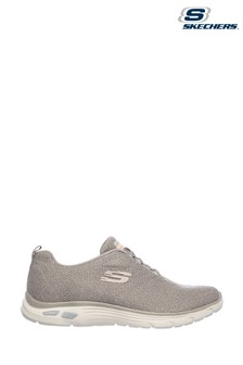 Skechers Natural Empire D'Lux Burn Bright Trainers
