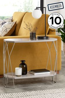 Hex Sofa Side Table