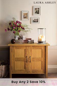 Milton Oak 2 Door Sideboard by Laura Ashley