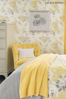 Laura Ashley Sunshine Apple Blossom Wallpaper