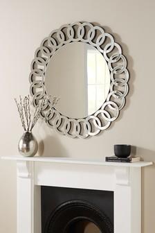 Bevelled Chain Mirror