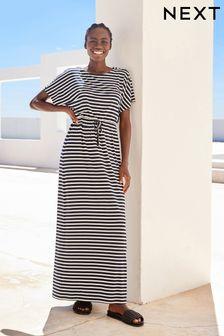 Short Sleeve Maxi Dress