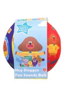 Hey Duggee Fun Sounds Ball Soft Toy