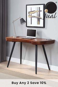 San Francisco Walnut Desk By Jual