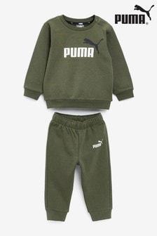 Puma Minicats Essential Sweat Top and Joggers Set