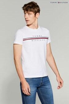 Tommy Hilfiger Tommy Corporate Split T-Shirt