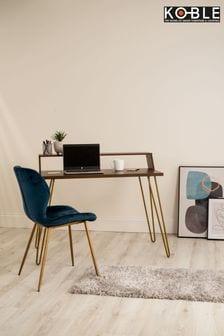 Bea Walnut Smart Desk By Koble