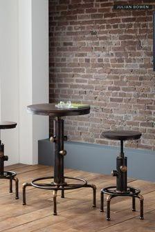 Set Of 2 Rockport Pipework Bar Stools By Julian Bowen