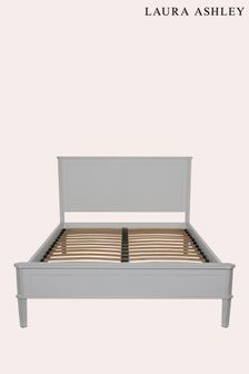 Henshaw Pale Charcoal Bed Frame