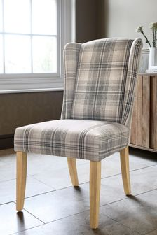 Sherlock Dining Chair With Natural Leg