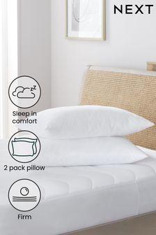 Set of 2 Sleep In Comfort Firm Pillows