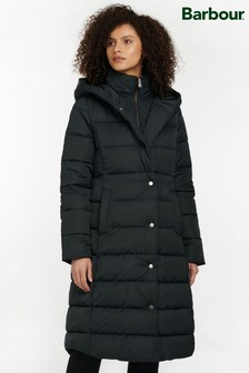 Barbour® Modern Heritage Black Buchan Puffer Quilted Coat