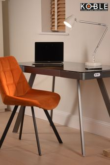 Silas Charcoal Smart Desk by Koble