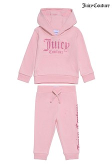 Juicy Couture Pink Branded Jog Set