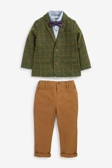 Heritage Blazer, Shirt And Chino Trouser Set (3mths-9yrs)
