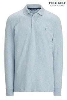Polo Golf by Ralph Lauren Long Sleeved Logo Polo Shirt