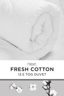 Breathable Cotton 13.5 Tog Duvet