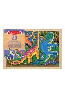 Melissa and Doug Wooden Dinosaur Magnet
