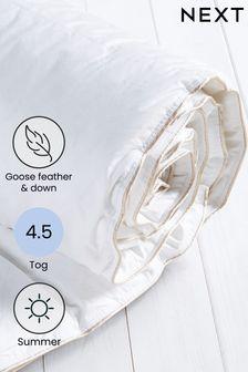 Goose Feather & Down 4.5 Tog Duvet