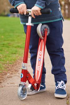 Micro Scooter Micro Sprite Red Stripe Scooter 5-12 Years