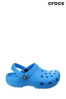 Crocs™ Blue Kids Classic Slip-On Clogs