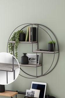 Concrete Effect Multi Shelf
