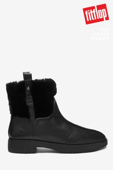FitFlop™ Black Mimie Ankle Boots