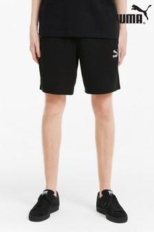 Puma Black Logo Shorts